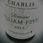 Chablis Domain William Fevre 2015 AOC