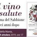Il vino è salute: il Provana del Sabbione