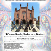 B come Barolo, Barbaresco… Beatles!