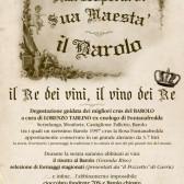 Mondovì – giovedì 28/11/13 – ore 20.30 – degustazione dei migliori crus di Barolo